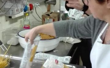 Pasta alla alla mollica e cavatelli con ventricina-6