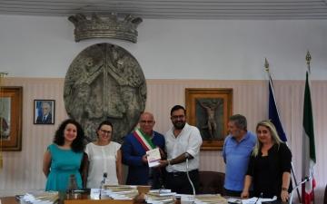 Cerimonia di accoglienza nella Finale Topica di Casalbordino