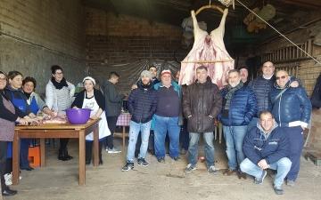 Il Rito del maiale a Sant'Elia a Pianisi
