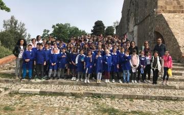 A Fossacesia con i ragazzi del Michetti D'Annunzio