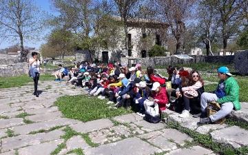 A Sepino con le classi 5  del Comprensivo ''G. Rossetti