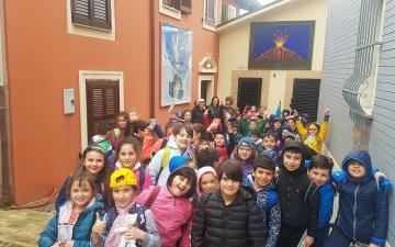 I ragazzi della Michetti D'Annunzio in visita ad Atri