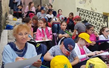La primaria di Cetti Castagne a Montebello di Bertona