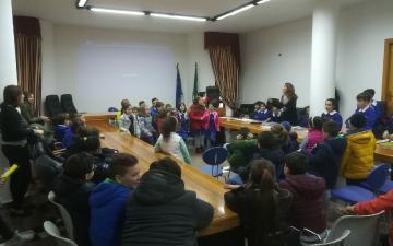 La scuola primaria di Atessa a Canistro