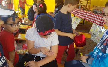 A Casalincontrada con la primaria Spataro di Vasto