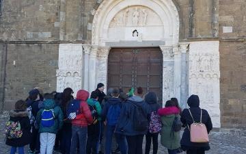 A Fossacesia con la scuola media di Monteodorisio