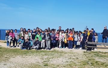 A Fossacesia con le scuole medie di Ripateatina e Torrevecchia