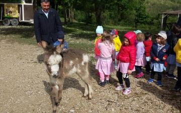 A Tufillo con la scuola dell'infanzia dell'IC2  San Salvo  via verdi