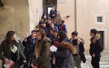 A Venafro con le scuole medie di Fresa e Lentella