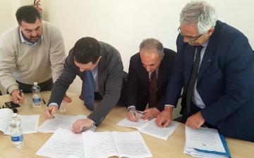 Firma protocollo per visite didattiche Usr  Molise - Anci - Ricercazione